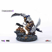 Darksiders Ii 2 Death And Dusk Collectible Statue Project Triforce - Brand New