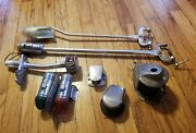 Lot Of 7 Vintage Boat Lights Nautical Decor White Red Green