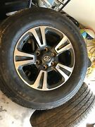 16 Toyota Tacoma Trd Sport Rims And Barely Used Firestone Tires
