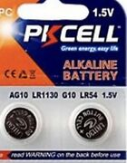 New Ag10 Lr1130 189 389 1.5 Volts Button Cell Battery Pack Of 2