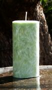 Huge 400hr 1.7kg Green Tea And Bamboo Herbal Infusion Scented Natural Eco Candle