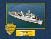Uss Anchorage Lsd36 Custom Personalized Print Of Us Navy Ships Unique Gift