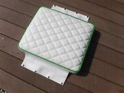 Racing Seat For Skidoo Blizzard Chassis 1- White W Green- Never Used