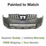 New Fits 2008 2009 2010 Nissan Rogue Front Bumper Cover Painted
