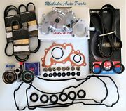 Npw Japanese Water Pump Kit W/ Valve Cover Gasket Set For Tacoma / 4runner 3.4l
