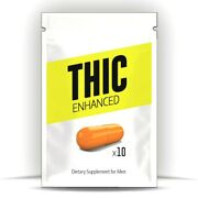 10 Thic Male Enhancement Gel-capsules Fast Acting Formula
