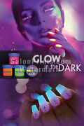Nail Salon Mesh Vinyl - Poster - Glow In The Dark Ombre Nails Poster    P-720