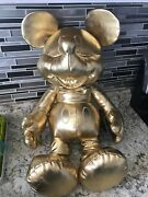 Mickey Mouse Gold Collection Large Gold Plush