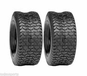 2 - 16x6.50-8 Lawn Tractor Mower 4 Ply D265 Turf Lawn Mower Tires 16 650 8