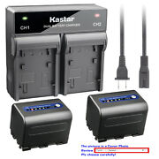 Kastar Battery Ac Rapid Charger For Sony Np-qm71d Sony Dcr-pc115 Dcr-pc6 Dsc-s75
