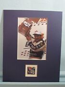 Dale Earnhardt Wins The 1998 Daytona 500 Honored By The Nascar Stamp