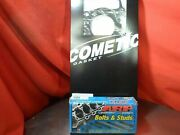 Cometic Head Gasket C4335-030 Honda S2000 89 Mm F20/22c1 And Arp Head Studs