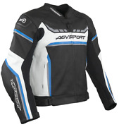 Agvsport Ascari Leather Motorcycle Agv Sport Jacket - Our Top Of The Line