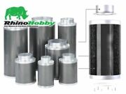 Rhino Hobby Filter 4 6 8 10 Inch Hydroponic Carbon Filters