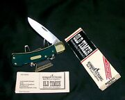 Schrade 5otg Locking Knife Old Timer 3-3/4 Usa Made 1990's W/packaging,papers