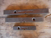 Carpenters Antique Lot Of 3 Levels Stanley And Akron Wood Vintage Tools Shop