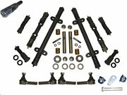 Deluxe Front End Kit 51 Frazer 1951 W/ King Pin Kit Steering Tie Rod Ends