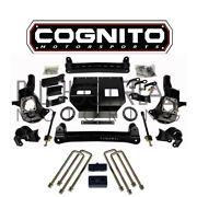 Cognito Motorsports 2011-2019 Gm 2500hd 4wd 4 Inch Stage 1 Lift Kit Fox Shocks