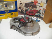 Big Block Timing Cover, Cast And Polished Andfuel Pump.pol. W/fso Andcable Bkt