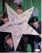 George Martin Hand Signed 8x10 Color Photo   Awesome Pose The Beatles   Jsa