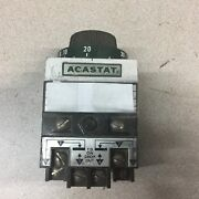 Used Tyco Agastat Time Relay 120 V 3-30 Min 7022ah004