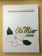 Ole Miss Mississippi University 1993 Yearbook Annual Hotty Toddy