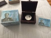 Niue 2012 2 Navy Officer Robert Falcon Scott 1oz Proof Silver Coin Limited