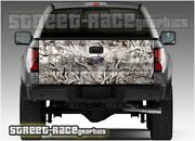 807 Tailgate Truck 4x4 Wrap Graphics Stickers Snow Buck Real Camo Camouflage