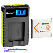 Kastar Battery Lcd Charger For Sony Np-bn1 Bc-csn And Sony Cyber-shot Dsc-wx9