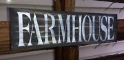 Rustic Wood Sign Farmhouse Wooden Home Decor Kitchen Country Sign Small 12