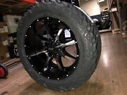 20x10 Moto Metal Mo970 35 Fuel Mt Wheel And Tire Package 8x170 Ford F250 F350