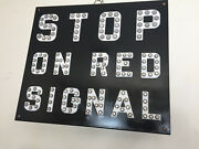 Rr Crossing Stop Sign