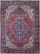 Authentic Wool Rnr-9021 9and039 1 X 11and039 9 Persian Heriz Rug