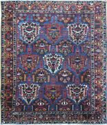 Authentic Wool Rnr-9085 10and039 8 X 12and039 8 Persian Bakhtiari Rug