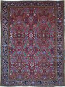 Authentic Wool Rnr-9261 7and039 7 X 10and039 3 Persian Heriz Rug