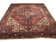 Authentic Wool Rnr-5412 8and039 5 X 10and039 1 Persian Heriz Rug