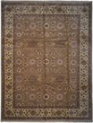 Authentic Handmade Wool 8and039 9 X 11and039 8 India Agra Rug Rnr-9558