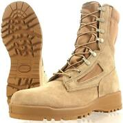 Wellco Hot Weather Flame Resistant Desert Tan 7 Xw 7 Extra Wide Combat Boots