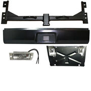 Fits Chevy 1500 99-06 Hidden Hitch And Roll Pan Kit With Light And Flip Down