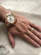 Versace Watch Menandrsquos Watch Reve Rose Gold Water Resistant Swiss Made