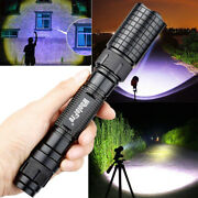 Tactical Police 990000lumens T6 Led 5 Modes Flashlight Military Zoom Torch