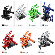 Fxcnc Cnc Front Rearsets Footpeg Foot Pegs For Motorcycle Models Types
