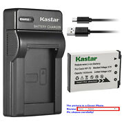 Kastar Battery Slim Charger For Casio Np-70 Bc-70l And Casio Exilim Zoom Ex-z250gd