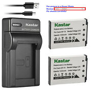Kastar Battery Slim Charger For Casio Np-70 Bc-70l And Casio Exilim Zoom Ex-z250pk