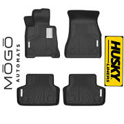 Husky Liners Mogo Luxury Black Front/rear Floor Liners For 17-19 Bmw 530i Xdrive