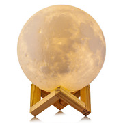 Moon Light Lamp Baby Night, Dimmable Color Changing, Touch Battery Operated