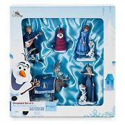 Disney Olaf's Frozen Adventure - Limited Edition Ornament Set Of 5 New