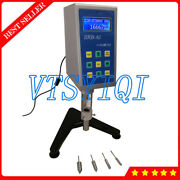 Liquid Kinematical Viscosity Tester Meter Rotary Viscometer With Rtd Temp Probe