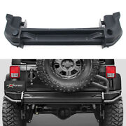 New Style Rear Bumper Steel Sport With Spare Tire Carrier For Jee P Wrangler