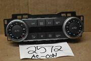 10 11 12 Mercedes-benz Glk 350 Used Ac And Heater Control Stock 2572-ac